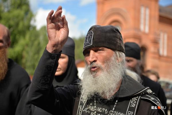 Отец Сергий продолжает оставаться в Среднеуральскомженском монастыре