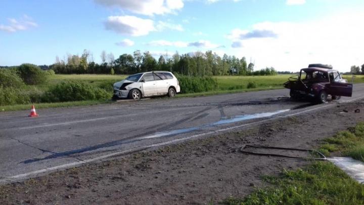 Смертельное столкновение на встречке: в Кочковском районе погиб пассажир «Жигулей»