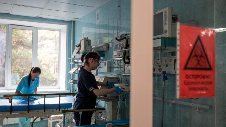 Температура 39, поражение легких 75%: пенсионер из Новосибирска две недели ждал госпитализации