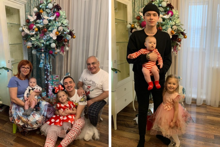 У Надежды дружная и любящая семья