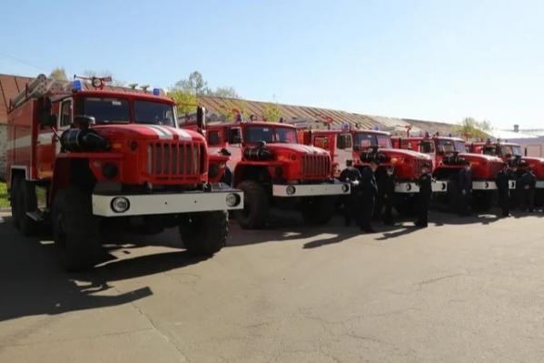 Осужденные женщины работали в «Отряде государственной противопожарной службы № 7»