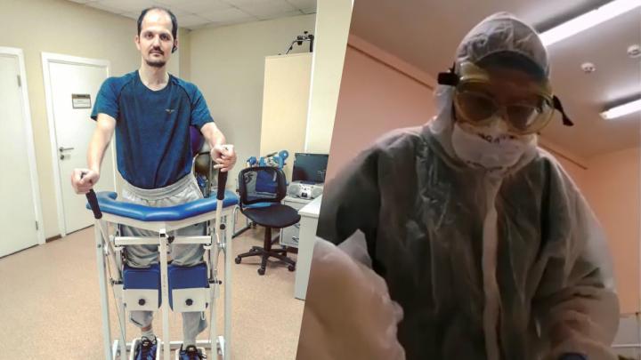 «Задницу поднимай!»: инвалид с COVID снял на видео, как его унижает медсестра 14-й больницы