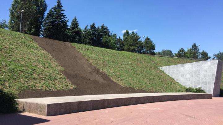 Змиевскую балку укрепят на случай ливней, чтобы грязь больше не накрыла мемориал жертвам фашизма