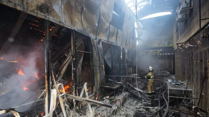 От пожара на рынке «Классик» пострадали 46 бизнесменов. Власти рассказали, как им помогут