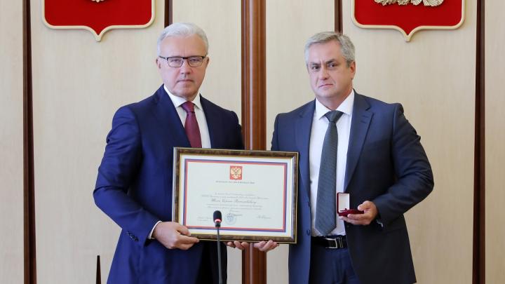 Топ-менеджер «Ростелекома» в Красноярске получил почетную грамоту от президента РФ