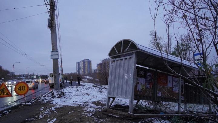 Напротив автовокзала установят стеклянный остановочный павильон