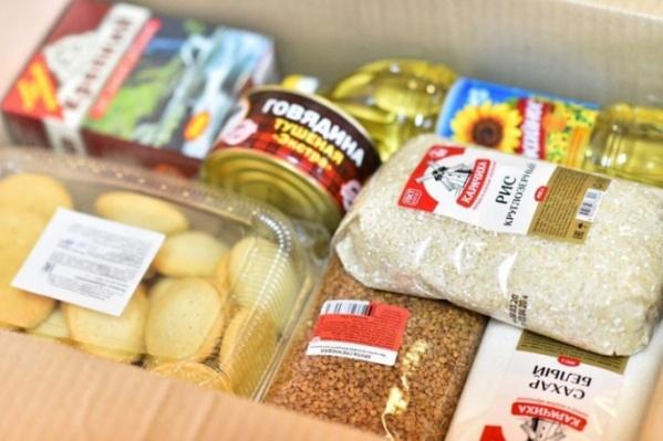 Набор продуктов для зауральских школьников пока формируется