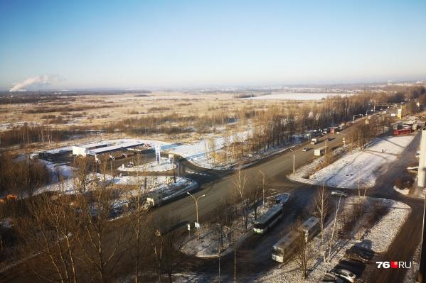 Ленинградский проспект в Ярославле расширят