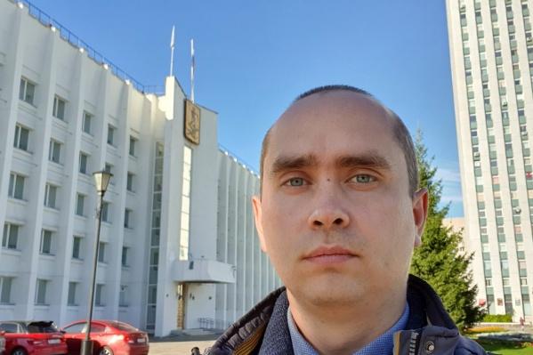 Михаил Шишов часто пишет про городскую среду Архангельска