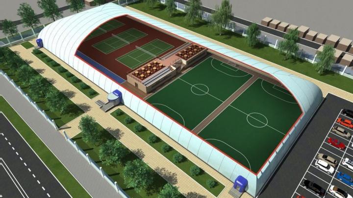 На месте стадиона «Сатурн» планируют построить манеж с футбольными полями и теннисными кортами