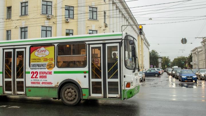 В Ярославле для городского автопарка купят в кредит старые ЛиАЗы с «гармошкой»