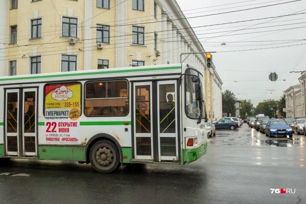 Город закупает 18-метровые автобусы