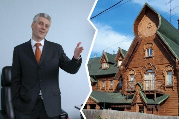 Бизнесмен Андрей Рожков начал строить терем в 1999 году