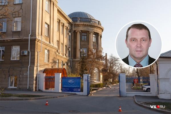 Депутат лежит в 5-й городской больнице