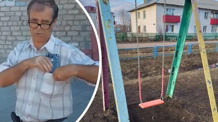 Разбитые головы, швы на руках: в Башкирии горожане несколько лет добиваются ремонта детской площадки