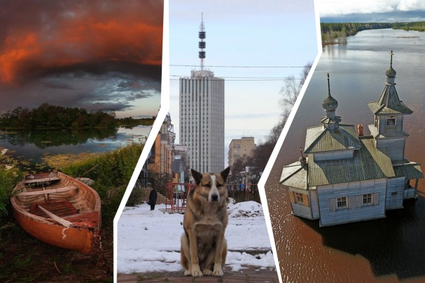 От берега Кокшеньги до разлившейся Пинеги — всё это можно увидеть в нашем профиле Instagram
