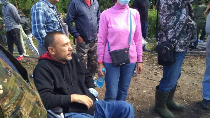 К защитникам Куштау присоединились люди на колясках и боец ММА Венер Галиев