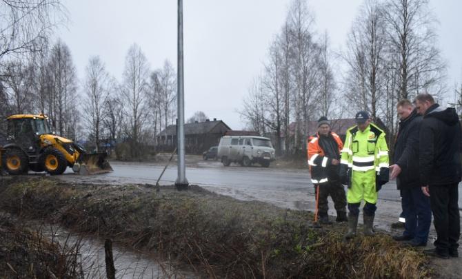 В Няндомском районе из-за подъема воды ввели режим повышенной готовности