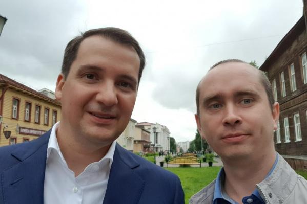 Летом Александр Цыбульский встречался с лидерами общественных мнений, в том числе с Михаилом Шишовым