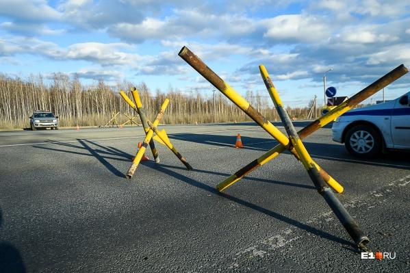 Блокпосты на границах Кузбасса работают с 15 апреля 2020 года
