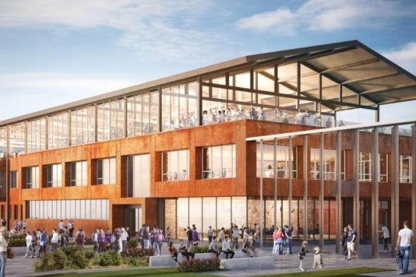 Так должно выглядеть новое здание галереи на заводе Шпагина