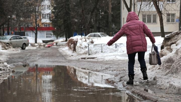 Пересаживаемся на лодки: в Башкирию идет весна, а с ней дожди и мокрый снег