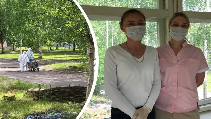 «Некоторые уже хотят ехать сюда»: как в Талагах оказывают помощь больным с коронавирусом