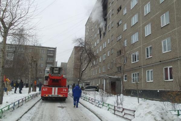 Площадь пожара составила 30 квадратных метров