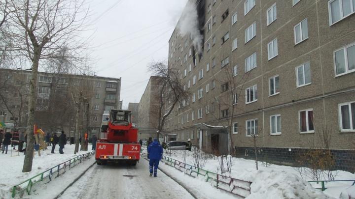 Пламя охватило два этажа: в девятиэтажке в Пионерском поселке сгорела квартира