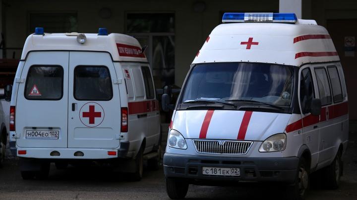 В Башкирии семью увезли в больницу из-за коронавируса