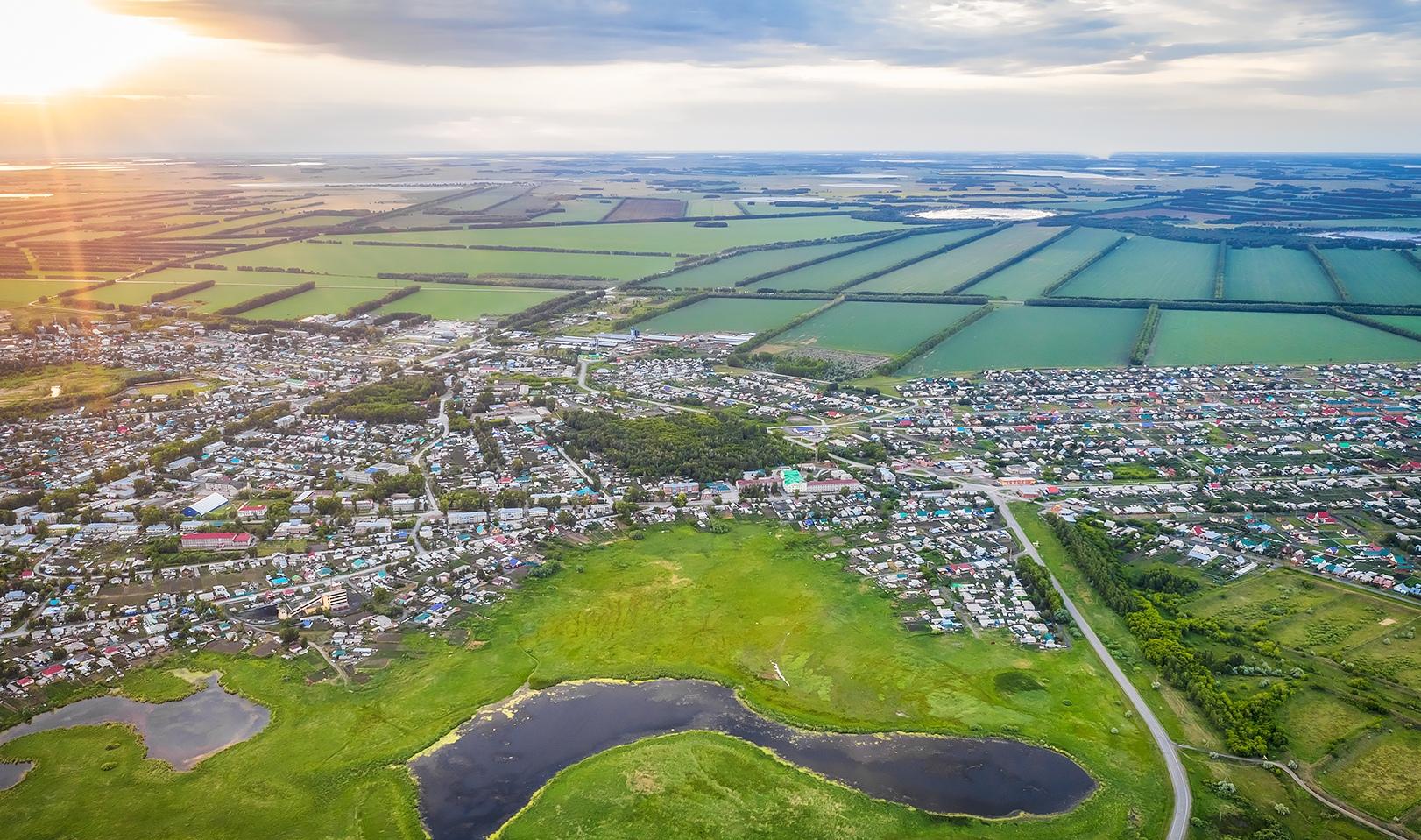 Краснозёрское является крупнейшим сельскохозяйственным районом области
