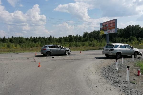 Авария произошла в 14:00