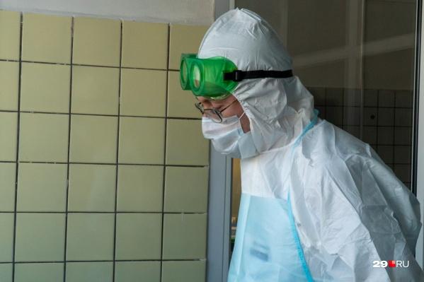 218 из 2409 заболевших коронавирусом — медики
