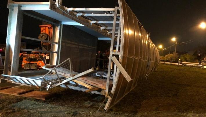 Как КамАЗ сумел обрушить мост на Челябинском тракте? Объясняет замминистра транспорта