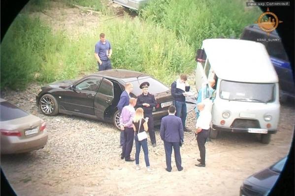 Машину с трупом нашли у одной из стройплощадок Солнечного
