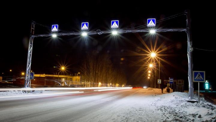 На ночь из-за урагана закрыли трассу Новосибирск — Ленинск-Кузнецкий