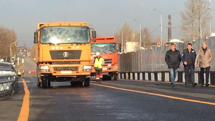 Проверили на прочность: в Ярославле прошли испытания Добрынинского моста