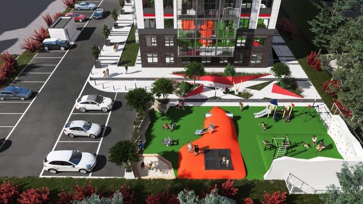 В центре популярного микрорайона строят дом с мизерной ипотекой (и бесплатными кладовыми)