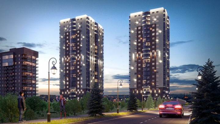Холл как в отеле, огромные квартиры и близость к метро: рассказываем о новом жилом комплексе на правом берегу