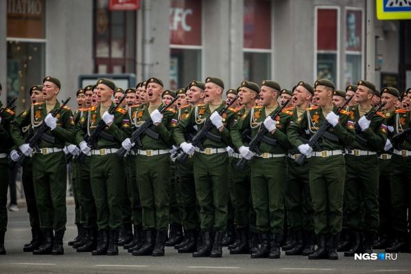 В этом году парад Победы пройдёт без зрителей