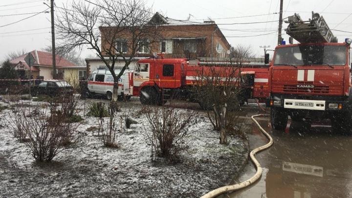 В Азове произошел взрыв бытового газа. Есть погибшие