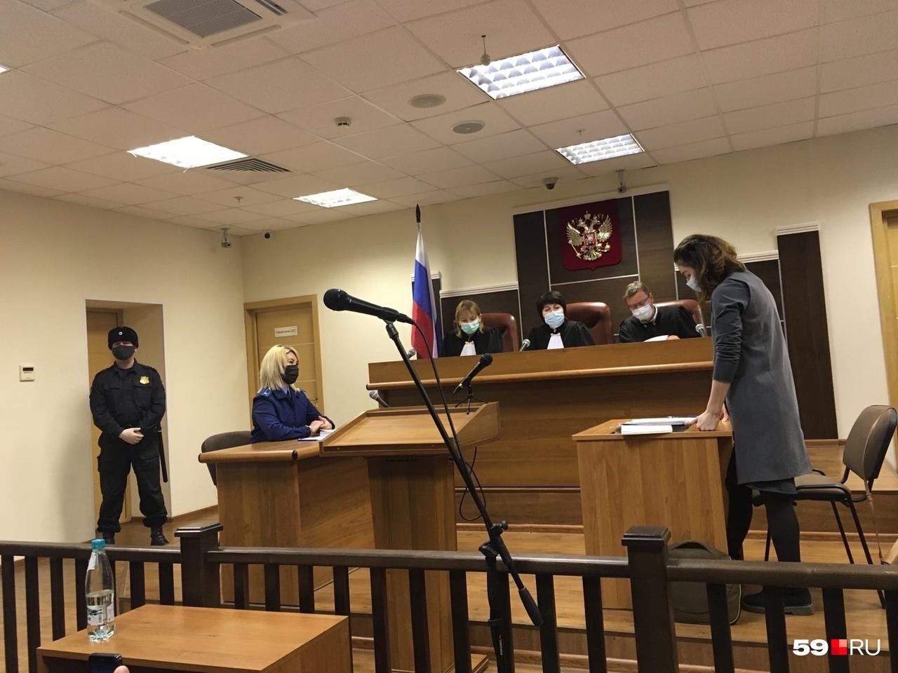 Слово берет адвокат Ольга Бедерсон