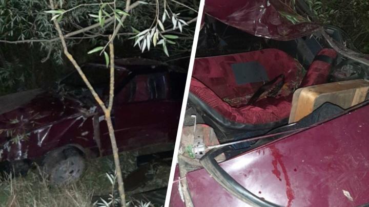 В Починковском районе перевернулась легковушка, набитая подростками. Пострадали шесть человек