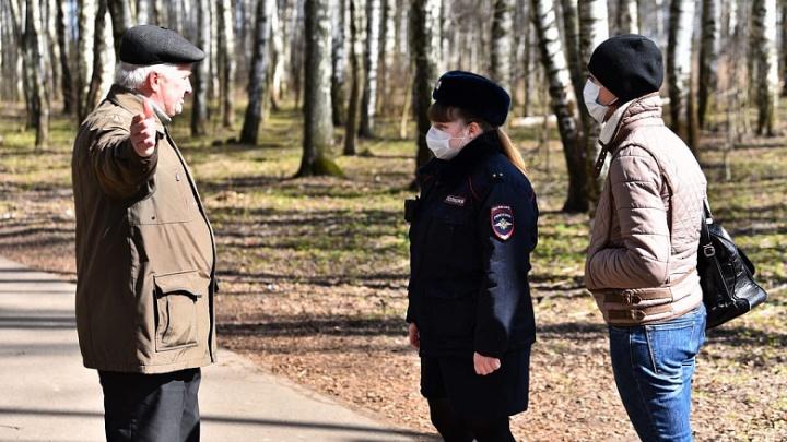В Ярославле устроили облаву на нарушителей режима самоизоляции. Где ходят патрули