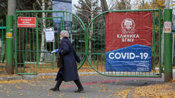 За сутки в Башкирии выявили 65 новых случаев заражения коронавирусом