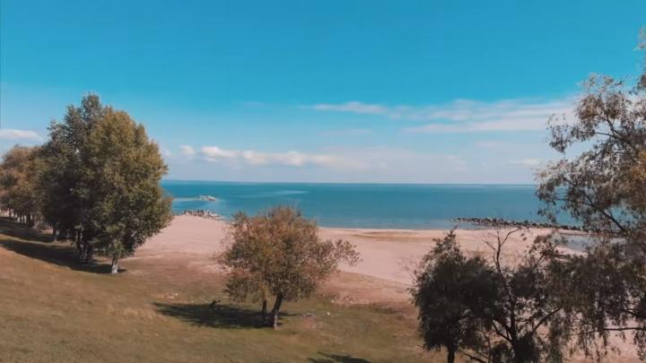 60 секунд красоты: блогер снял с высоты Морской сельсовет — посмотрите на эти шикарные виды