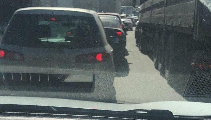 В Красноярске ради проверки документов перекрыли все мосты