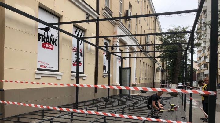 В Ростове готовят к открытию ресторан Басты. Показываем, как теперь выглядит Газетный переулок