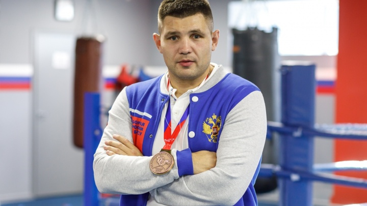 Боксер из Волгограда взял бронзу на чемпионате России