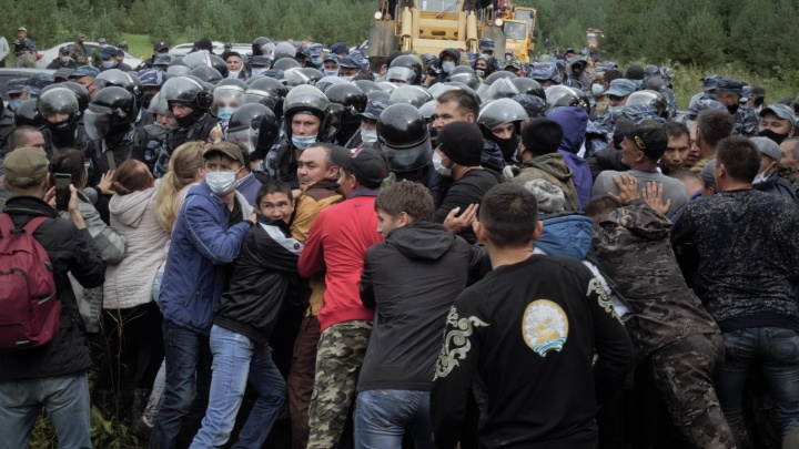 Битва за Куштау в 50 фотографиях